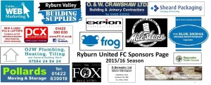 Ryburn United Football Club Sponsors